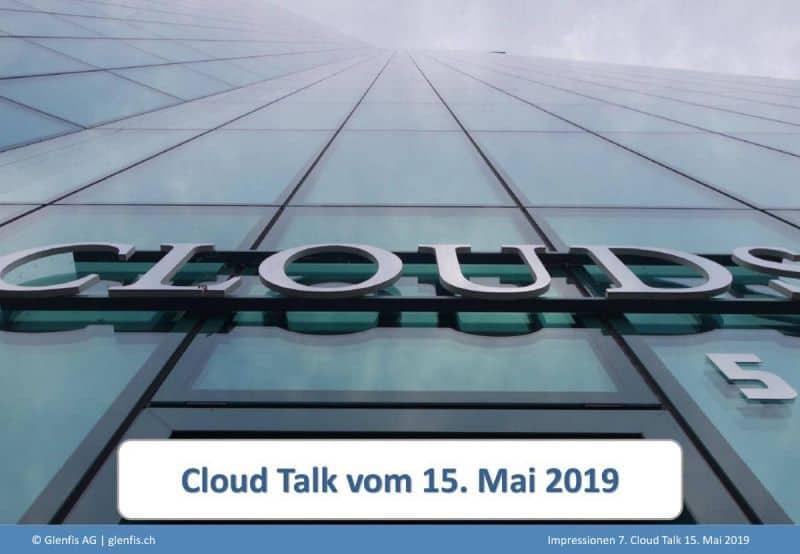 15.05.2019 Sicherheit in der Cloud