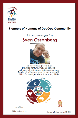 Pioneers of Human DevOps Community